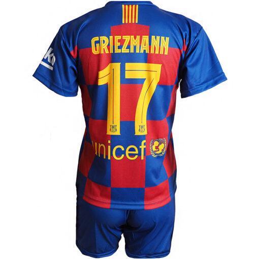 Detský dres FC Barcelona Griezmann 2019/20 replika