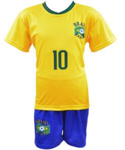 Detský dres Neymar Brazília 2018 replika