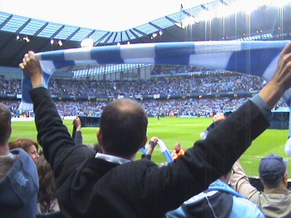 Futbalovy sen Manchester City