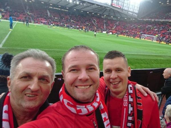 Futbalovy sen Manchester United