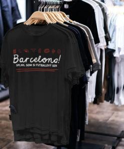 Tričko Barcelona Futbalový sen