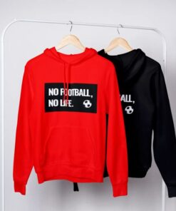 Mikina No Football No Life