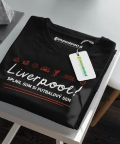 Tričko Liverpool Futbalový sen