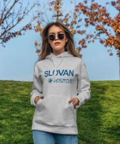 Mikina Slovan positive