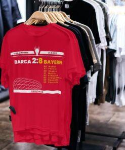 tričko bayern barcelona 8:2