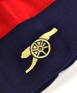 Čiapka Arsenal so znakom klubu