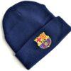 Čiapka FC Barcelona s logom klubu (záhyb)