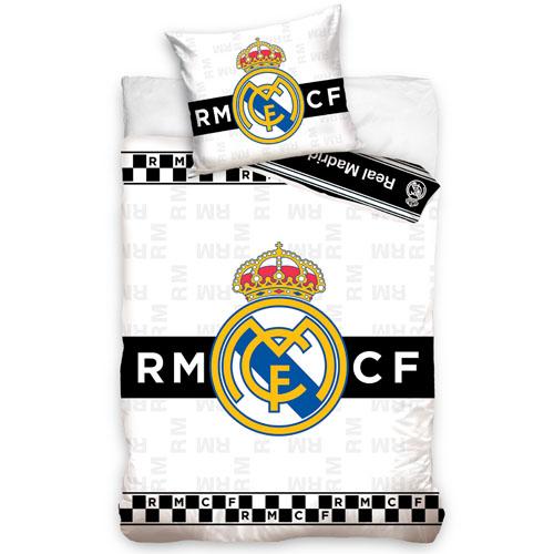 Obliečky Real Madrid 140 x 200 cm, 70 x 90 cm