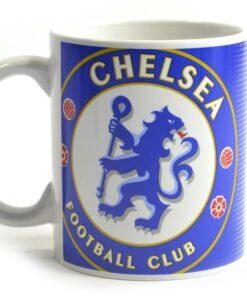 Hrnček Chelsea so znakom klubu