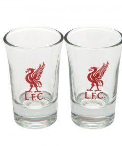 Poháriky Liverpool so znakom klubu