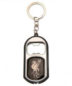 Kľúčenka Liverpool s otváračom na fľaše a baterkou