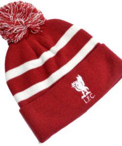 Čiapka Liverpool so znakom klubu s brmbolcom
