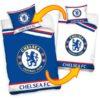 Obliečky Chelsea obojstranné biele a modré