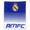 Deka Real Madrid 120 x 150 cm - flísová/fleecová