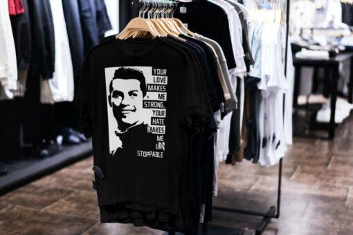 Tričko Ronaldo s mottom