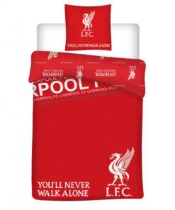 Obliečky Liverpool YNWA perina a vankúš červené