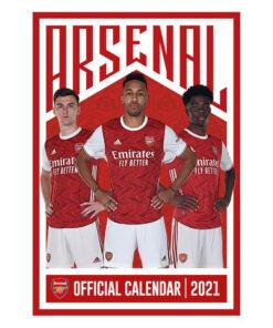 Kalendár Arsenal 2021 A3