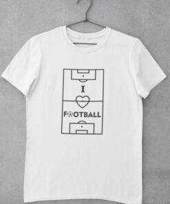 Tričko I Love Football