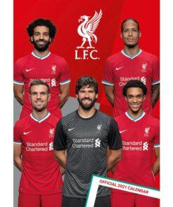 Kalendár Liverpool 2021 A3