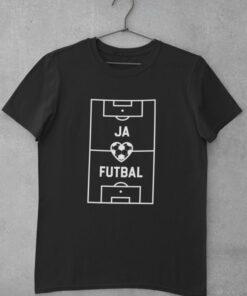 Tričko Milujem futbal