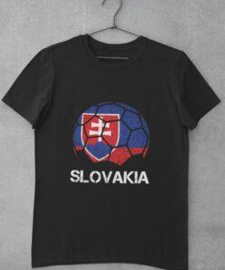 Tričko Slovakia čierne