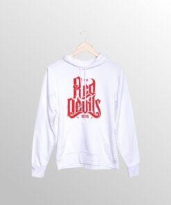 Mikina Man United Red Devils biela