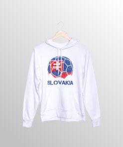 Mikina Slovakia biela