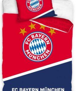 Obliečky Bayern na perinu a vankúš červené