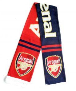 Šál Arsenal červeno-modrý