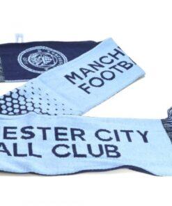 Šál Manchester City modrý