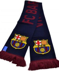 Šál FC Barcelona modrý