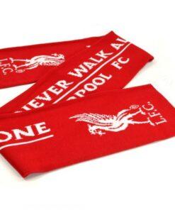 Šál Liverpool červený