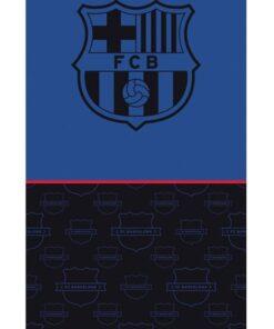 Uterák FC Barcelona modrý 70x140cm