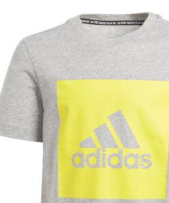 Adidas detské tričko šedé s nápisom Adidas