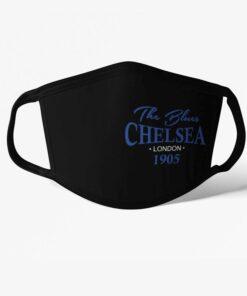 Futbalové rúško Chelsea The Blues 1905 čierne