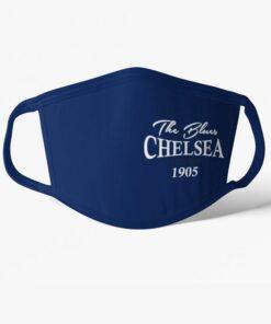 Futbalové rúško Chelsea The Blues 1905 tmavomodré
