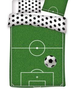 Obliečky Futbalové ihrisko na perinu a vankúš