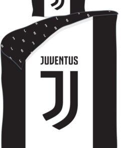 Obliečky Juventus perina vankúš White/Black