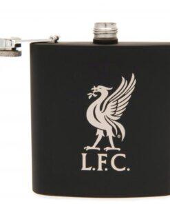 Ploskačka Liverpool LFC Liverbird čierna