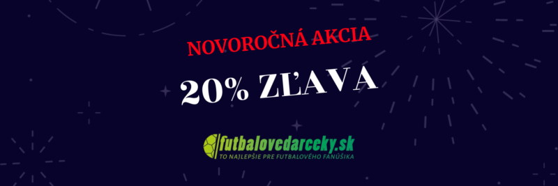 novoročná akcia: 20% zľava pri nákupe nad 50€