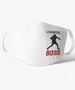 Rúško Liverpool Boss Klopp biele