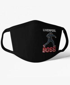 Rúško Liverpool Boss Klopp čierne