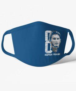 Futbalové rúško Lampard Chelsea modré
