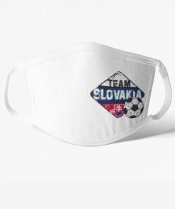 Rúško Slovensko Team Slovakia biele