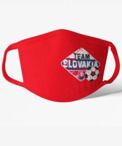 Rúško Slovensko Team Slovakia červené