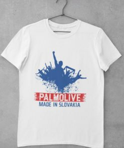 Futbalové tričko Palmolive biele