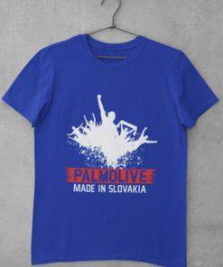 Futbalové tričko Palmolive modré