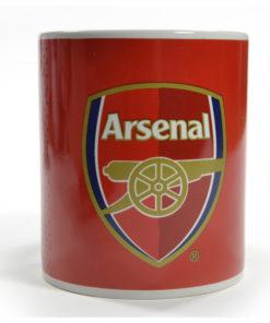Hrnček Arsenal Fade červeno-modrý logo