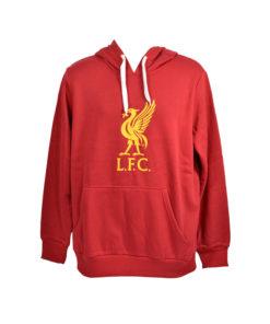 Mikina Liverpool Crest Liverbird červená