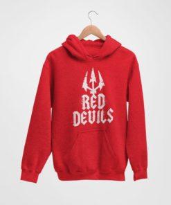 Mikina Manchester United Red Devils cervena